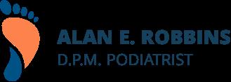 Dr. Alan Robbins, DPM  logo
